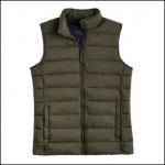 Joules Go To Dark Khaki Padded Gilet 1