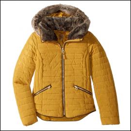 Joules Gosling Caramel Padded Jacket 1