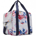 Joules Grey Whitstable Floral Picnic Cool Bag 2
