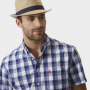 Joules Halstow Hessian Trilby Hat 2