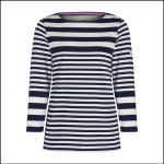 Joules Harbour Humbug Stripe Jersey Top