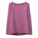 Joules Harbour Ruby Stripe Jersey Top