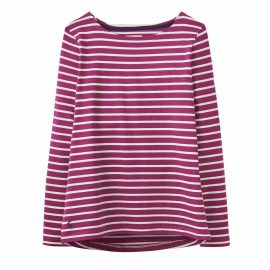 Joules Harbour Ruby Stripe Jersey Top 1
