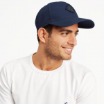Joules Headley Mens French Navy Baseball Cap 2