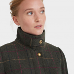 Joules Heather Check Tweed Field Coat 4