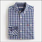 Joules Hewney Navy Gingham Shirt 2