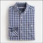 Joules Hewney Navy Gingham Shirt 2