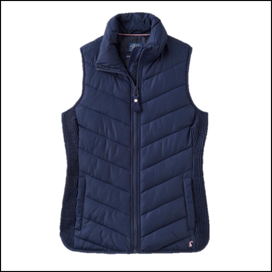 Joules Highgrove French Navy Padded Gilet 1