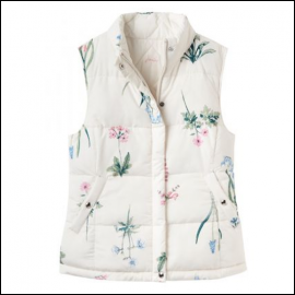 Joules Holbrook Reversible Cream Gilet 1