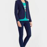 Joules Justine Navy Textured Blazer 3