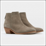 Joules Langham Grey Suede Ankle Boots 1