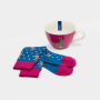 Joules Let your Hare Down Mug & Bamboo Sock Gift Set 2