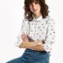 Joules Lucie Cream Love Bees Classic Print Shirt 2