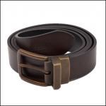 Joules Mens Black-Brown Reversible Leather Belt 1