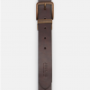 Joules Mens Black-Brown Reversible Leather Belt 2