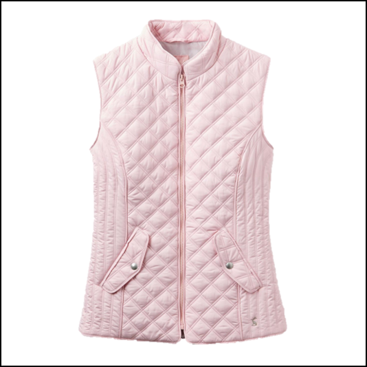 Joules Minx Soft Pink Gilet 1
