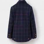 Joules Navy Check Tweed Fieldcoat 2