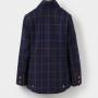 Joules Navy Check Tweed Fieldcoat 2