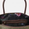 Joules Paddington Green Check Tweed Weekend Bag 2