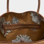 Joules Paddington Tan Check Tweed Weekend Bag 2