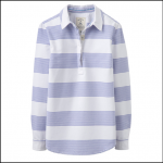 Joules Pool Blue Stripe Clovelly Deck Shirt 1