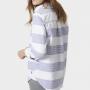 Joules Pool Blue Stripe Clovelly Deck Shirt 2