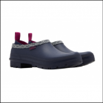 Joules Pop Ons French Navy Dandelion Geo Welly Clogs