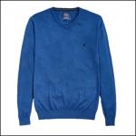 Joules Retford Deep Blue Marl V Neck Jumper