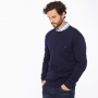 Joules Retford French Navy Marl Crew Neck Jumper 2