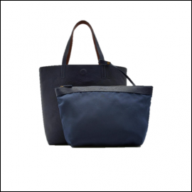 Joules Revery Bright French Navy Reversible Shoulder Bag 1