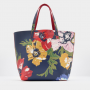 Joules Revery French Navy Posy Print Reversible Shoulder Bag 2