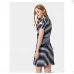 Joules Riviera Hope Stripe French Navy Dress 3