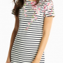 Joules Riviera Navy Blossom Stripe Print Dress 2