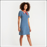 Joules Riviera Saltwash Stripe Jersey Dress 2