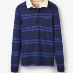 Joules Rory Classic Rugby Shirt French Navy
