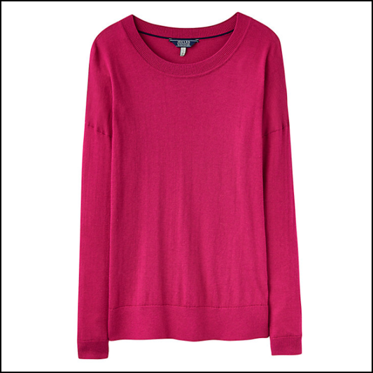 Joules Sally Ruby Jumper 1