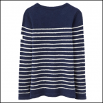 Joules Seaham French Navy Chenille Jumper 1