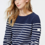 Joules Seaham French Navy Chenille Jumper 2