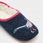 Joules Slippet French Navy Mule Slippers