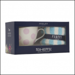 Joules 'Some Like It Hot' Mug & Fluffy Sock Gift Set