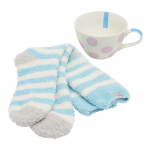 Joules Some Like It Hot Mug & Fluffy Sock Set 2