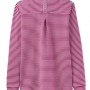 Joules Tenby Ruby Stripe Sweat Deck Shirt 2Joules Tenby Ruby Stripe Sweat Deck Shirt 2