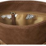 Joules Tourer Tan Check Tweed Cross-Body Bag 4