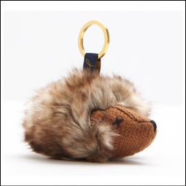 Joules Tweedle Hedgehog Keyring 1