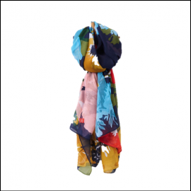 Joules Wensley French Navy Posy Scarf 1