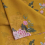 Joules Wensley Gold Chinoise Flower Print Longline Scarf 2