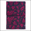 Joules Wensley Navy Bilberry Botanicals Print Longline Scarf 2