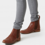 Joules Westbourne Dark Brown Leather Chelsea Boots 2