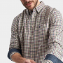 Joules Wilby Antique Cream Check Shirt 2
