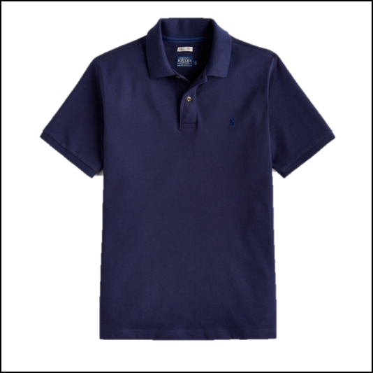 Joules Woody Classic Fit French Navy Polo Shirt 1